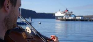 The music celebrates Scotland's coastal communities, the inspirational joy of sailing, and Neil Gunn's outstanding contribution to Scottish literature.