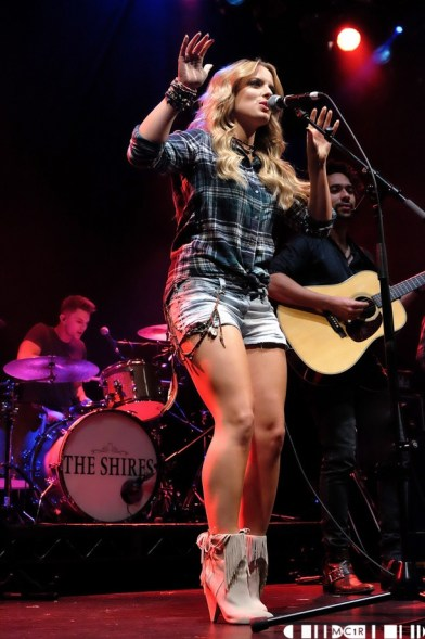 The Shires 5 - The Shires, Ironworks - 10/10/2015