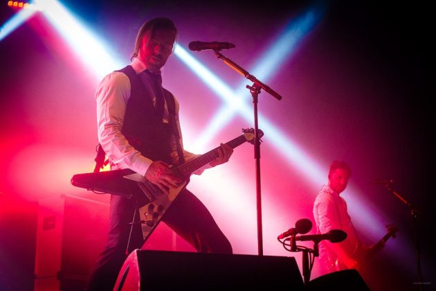 THURSDAY 1ST DECEMBER 2016: Bullet for my Valentine perform at the Ironworks in Inverness, United Kingdom