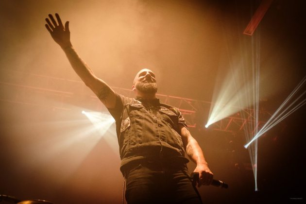 THURSDAY 1ST DECEMBER 2016: Killswitch Engage perform at the Ironworks in Inverness, United Kingdom