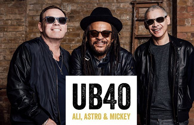 UB40, with support from Raging Fyah, Original Wailers, Level 42, at Northern Meeting Park , Inverness.