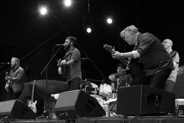 Michael Bernard Fitzgerald supporting Bryan Adams, Inverness on the 16th of July 2017