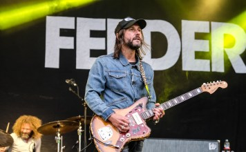 Feeder at Belladrum 2017