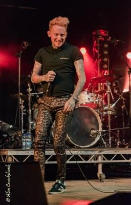 Frank Carter & The Rattlesnakes at Belladrum 2017