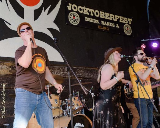 The Oxbow Lake Band at Jocktoberfest 2017