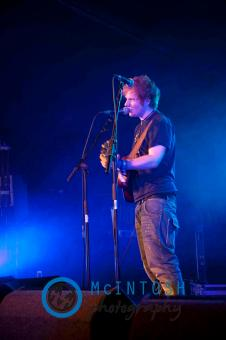 Ed Sheeran Belladrum, Inverness 2011 10