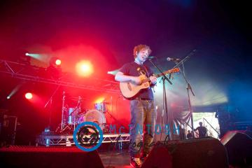 Ed Sheeran Belladrum, Inverness 2011 2