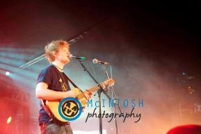 Ed Sheeran Belladrum, Inverness 2011 6