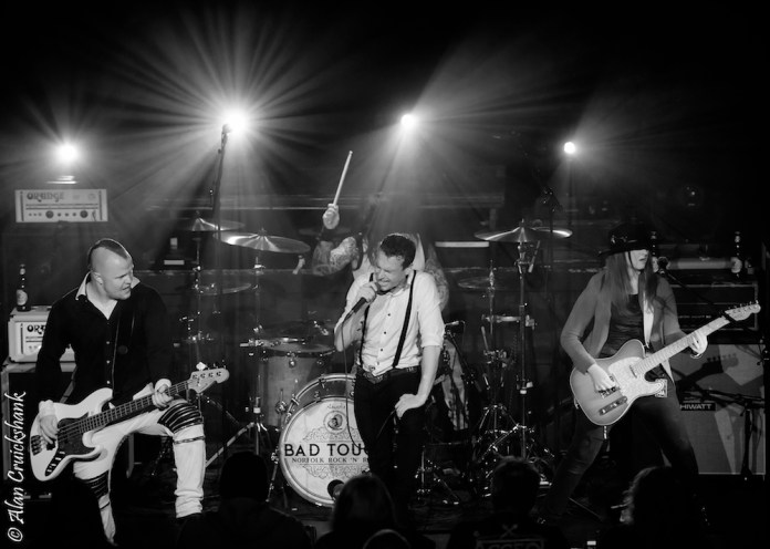 Ironworks October 2018 with Aaron Buchanan and The Cult Classics 12 - Bad Touch, 19/10/2018 - Images and Review