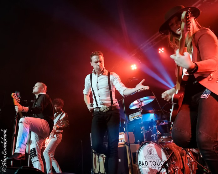 Ironworks October 2018 with Aaron Buchanan and The Cult Classics 34 - Bad Touch, 19/10/2018 - Images and Review