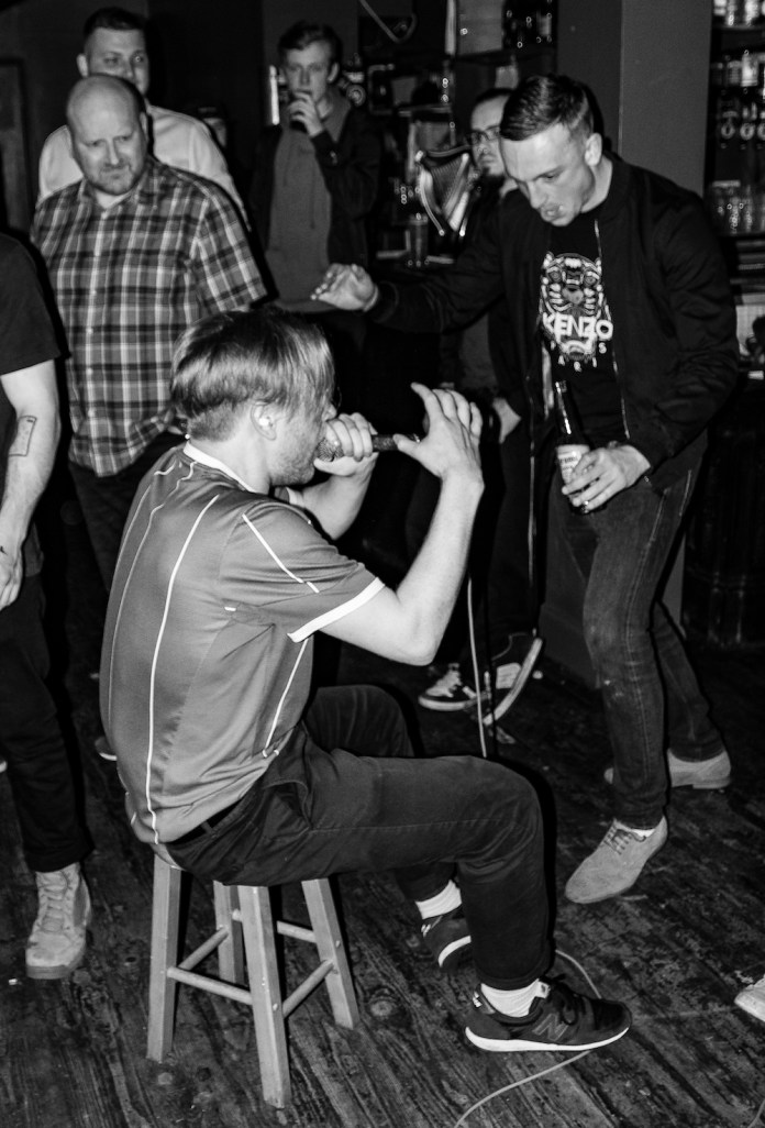 Sharkteeth Grinder Drinsipia and Section 9 at Mad Hatters on the 3rd of November 2018 9 - Sharkteeth Grinder, 3/11/2018 - Images and Review