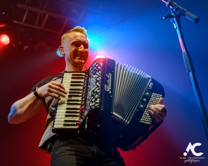 Skerryvore with City Of Inverness Pipe Band and Runrigs Iain Bayne December 2018 Ironworks Inverness November 2018 17 - Skerryvore, 7/12/2018 - Images