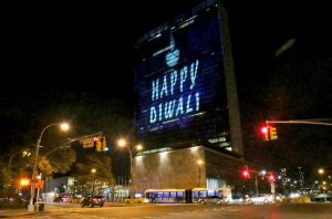 United Nation celebrates happy dewali