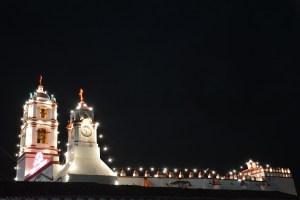 Ixtapan de la Sal de noche.