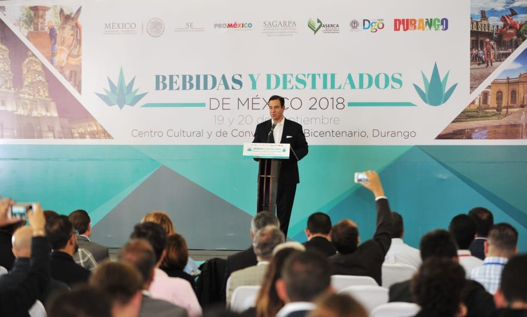Promexico y Durango inauguran bebidas y destilados de México