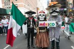 Charro and the revolucionarios pay a visit to NYC to promote the DÍa de Muertos parade that will take place on October 27th, 2018 in Mexico City.