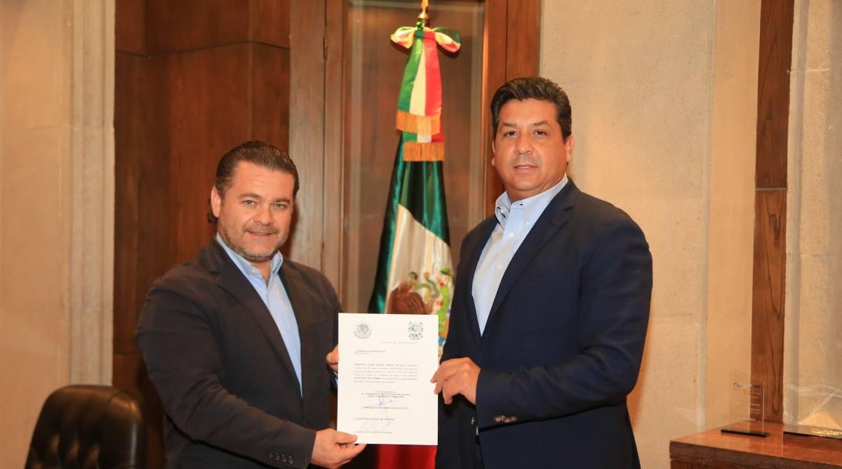 Fernando Olivera Rocha, nuevo secretario de Turismo de Tamaulipas