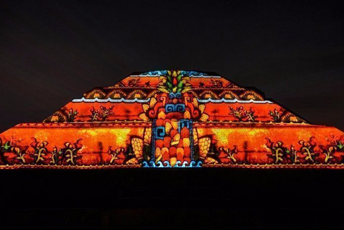 """Regresan los tours """"Teotihuacán nocturno"""""""