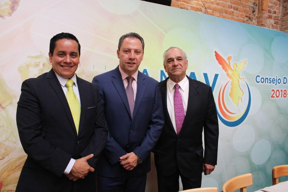 Julián Arroyo va por la consolidación de la AMAV-CDMX