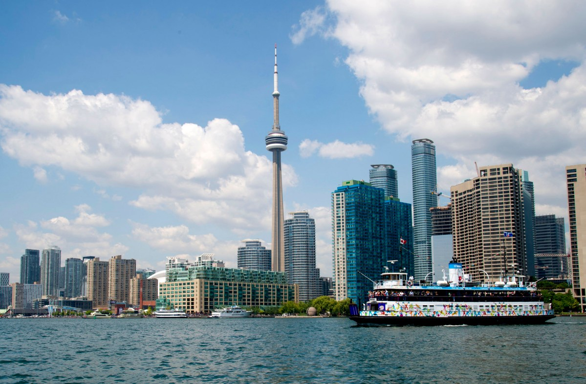 Toronto en primavera con AirCanadá