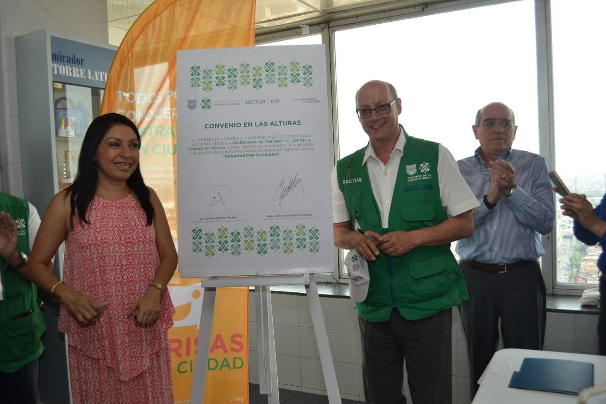 Ofrecerán Sectur-CDMX y DIF recorridos turísticos gratuitos a población vulnerable