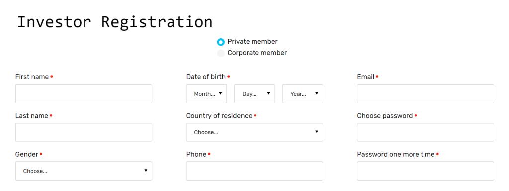 formulario abrir cuenta