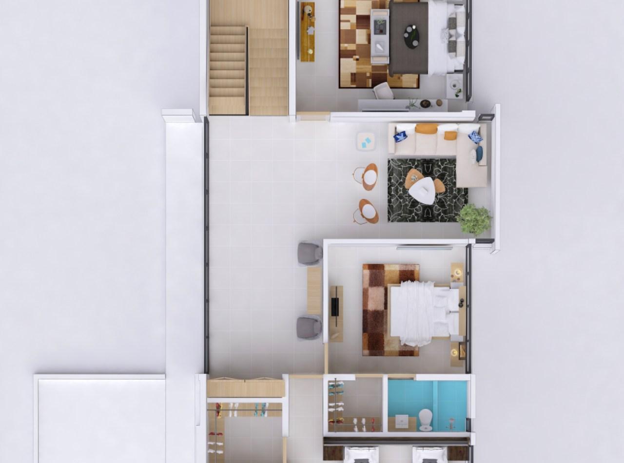 Valdepeña Residences con Casas de 4 Habitaciones en Santiago