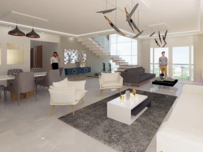 ROUSE TOWER, Exquisito Apartamento Penthouse con Vista, 245 Mt2
