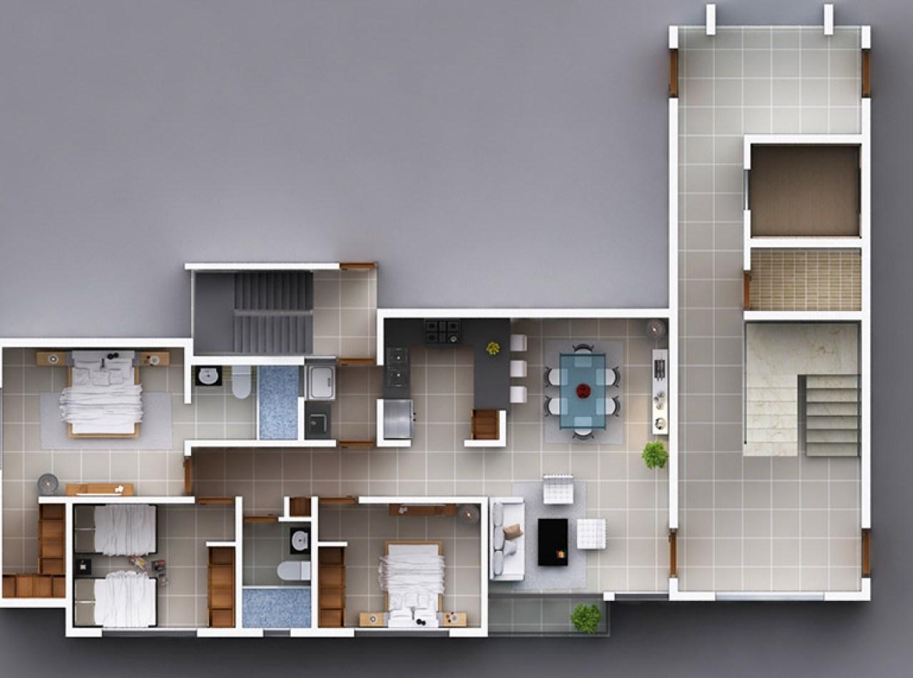 Porto Sole Residencial, Apartamentos en Padre las Casas, Santiago