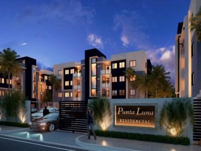 Residencial Punta Luna, Apartamentos en Urbanización Thomen, Santiago