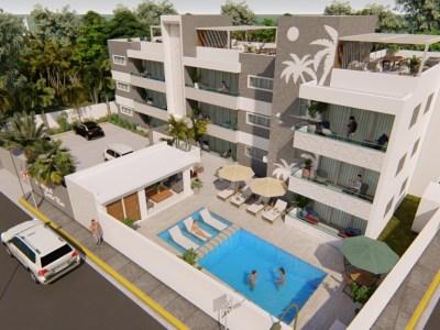 Apartamentos Cerca de la Playa, Res. Costa Mar,Costambar, Puerto Plata.
