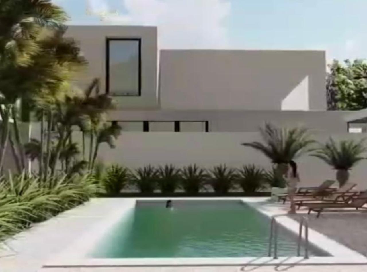 Nuevo Proyecto Cerrado de Casas con Piscina Próximo al Aeropuerto, Santiago