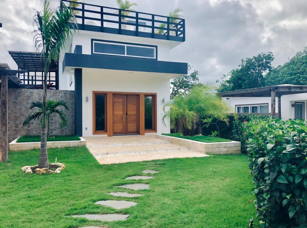 Villa Inteligente Amueblada en Venta en Sosua Ocean Village