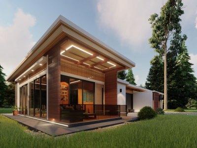 Proyecto Exclusivo de 10 Villas Ecológicas de 2 Habitaciones