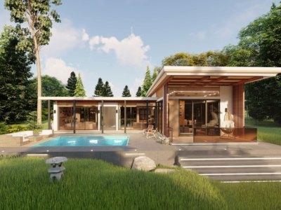 Proyecto Exclusivo de 10 Villas Ecológicas de 4 Habitaciones