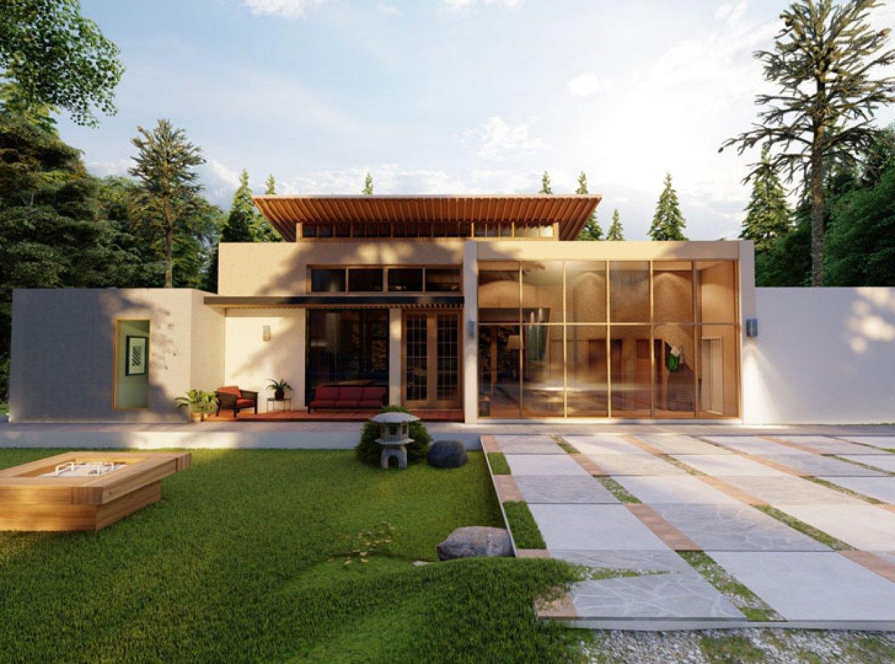 Villa de Montaña de Diseño Contemporáneo con 218 Mts2