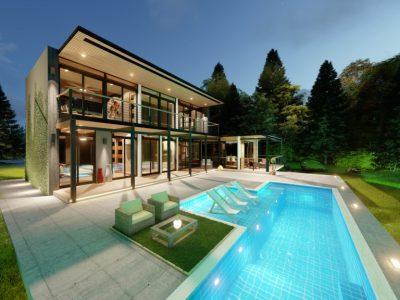 Villas de Lujo de 2 Habitaciones con las Vistas mas Increibles