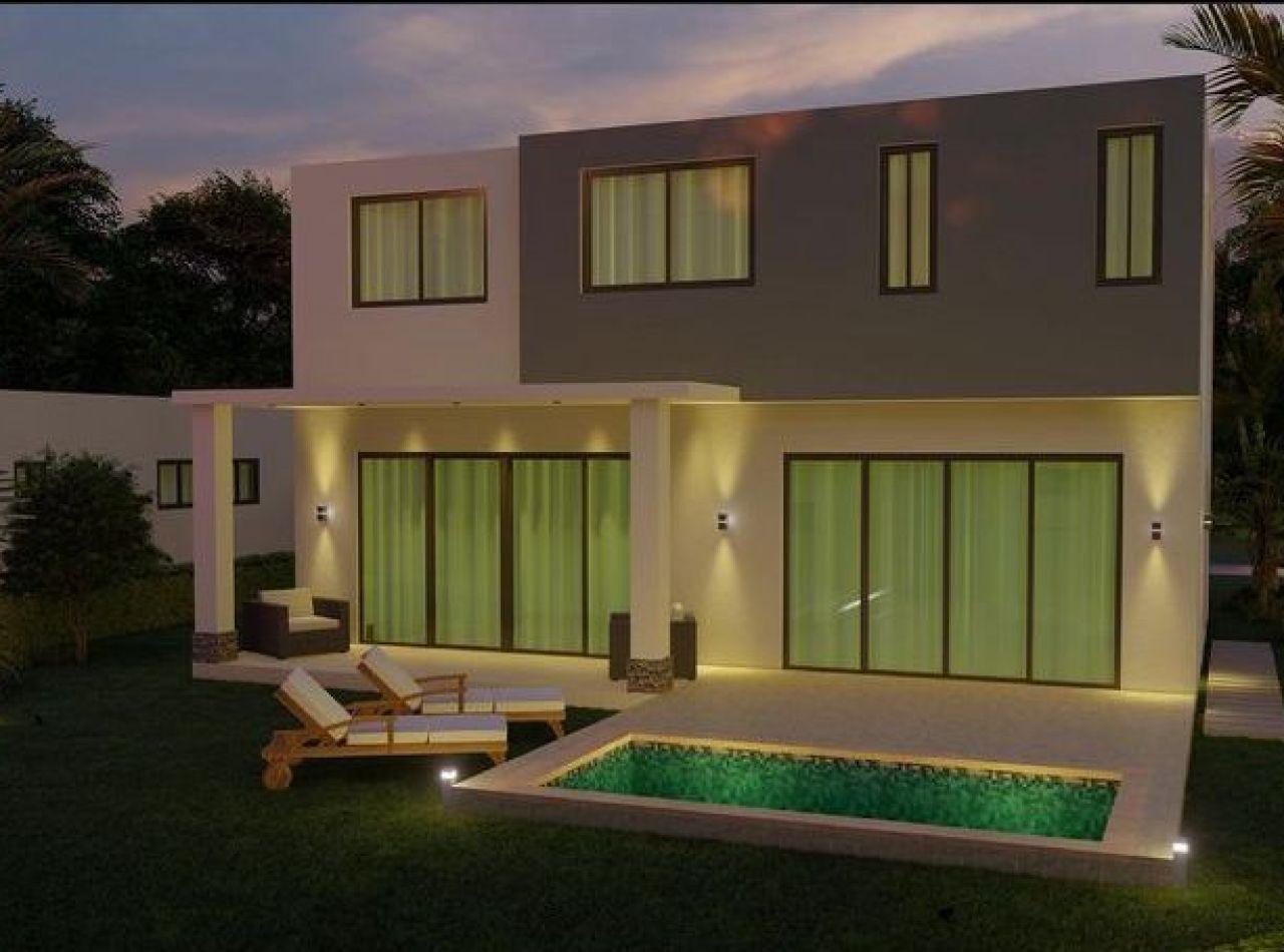 Exclusivas Villas de 2 Habitaciones en Proyecto Cerrado, Punta Cana