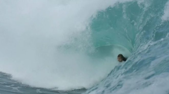 Chris James bodyboarding RIP at Inverted