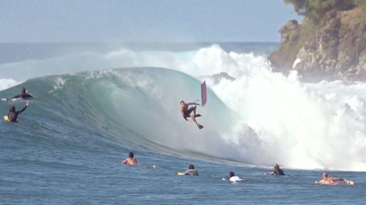 Dave Hubbard Huge Air Reverse at INverted Bodyboard Blog