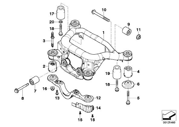DIY : Replacing rear differential bushings (mounts) aka