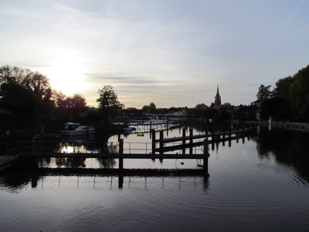 Looking back towards Marlow