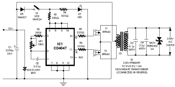 100w inverter circuit with irf540 inverter circuit and products rh inverter circuit com simple 100w inverter circuit diagram 100w cfl inverter circuit diagram