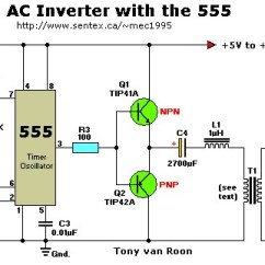 Microcontroller Based Inverter Circuit Diagram Cat5e Wiring 568b Dc To Ac Improvents Electronics Forum Circuits Projects But I Have Adjusted The Cap And Resistor For 15khz Need That High Frequency Cause My Voltage Multiplier Uses 3kv 10nf Ceramic Caps Looks