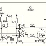 500W Power Inverter Circuit using Transistor 2N3055
