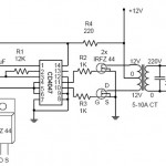 Simple Inverter Circuit 12VDC