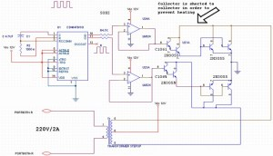 Transistored Power Inverter 500W