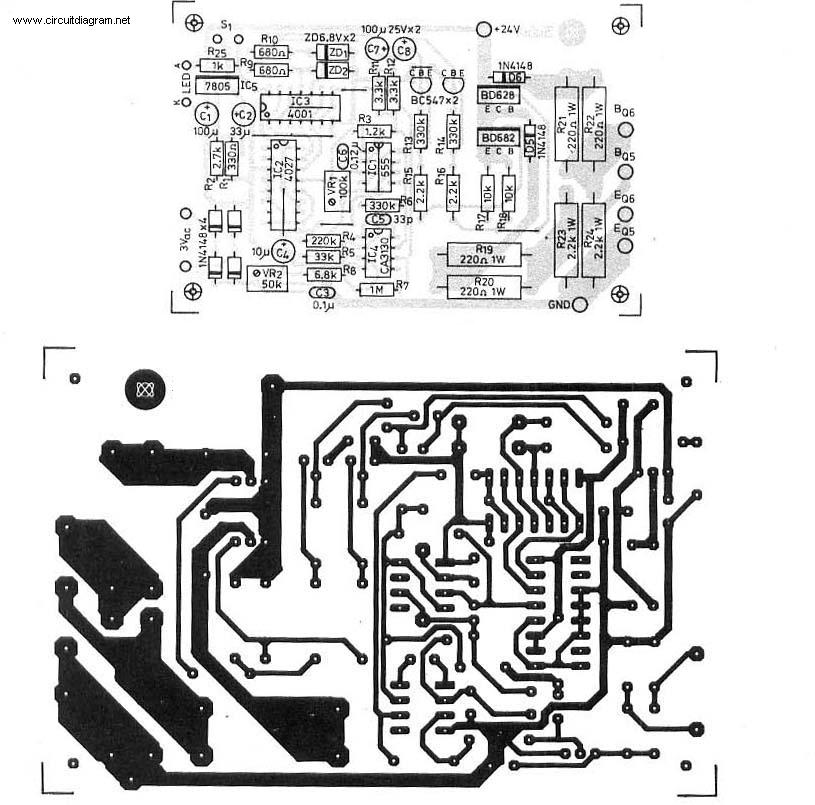 300w power inverter pcb layout inverter circuit and products