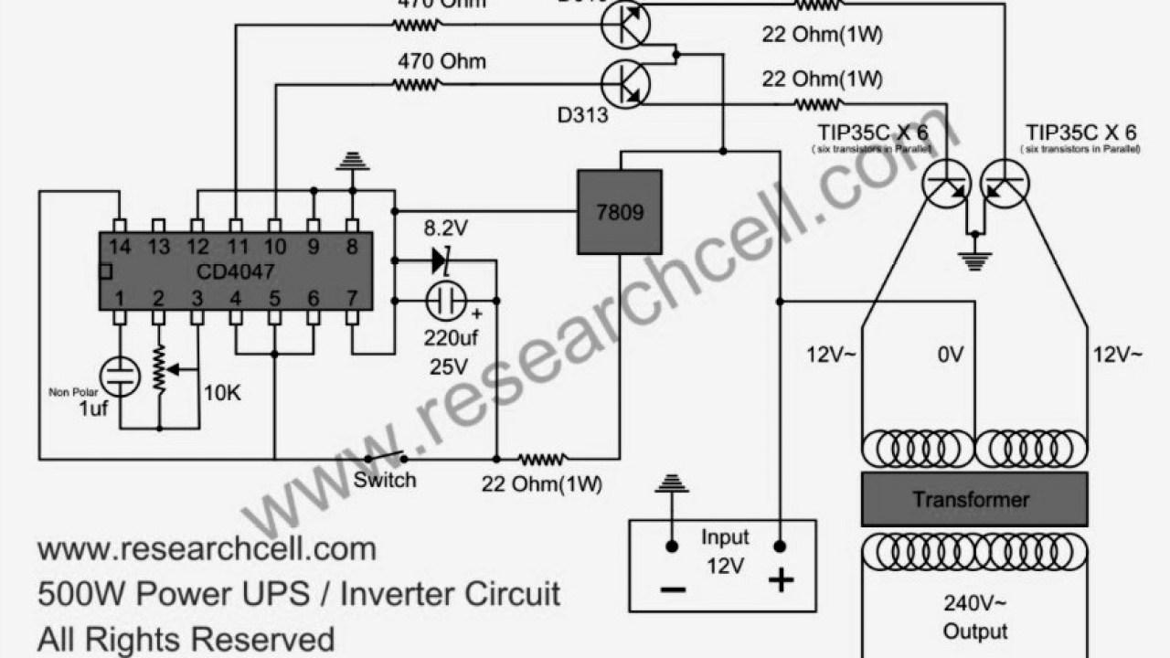 81cbe 12v To 220v Inverter Circuit Diagram Pdf Wiring Resources