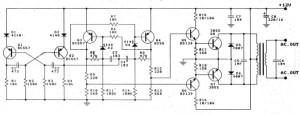 100W DC Inverter 12VDC to 220VAC
